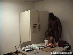 Comendo a colega dentro do escritorio